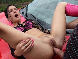 Slut fucked on the red hood